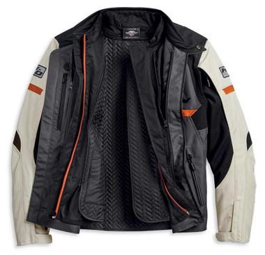 Harley-Davidson Men's Killian Three-Seasons Polyester Riding Jacket 97103-20VM - Wisconsin Harley-Davidson