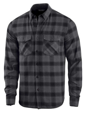 Harley-Davidson Men's Tonal Plaid Woven Slim Fit Long Sleeve Shirt 96234-20VM - Wisconsin Harley-Davidson