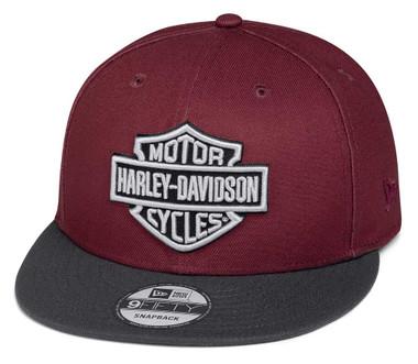 Harley-Davidson Men's Embroidered Logo Adjustable Baseball Cap 97608-20VM - Wisconsin Harley-Davidson