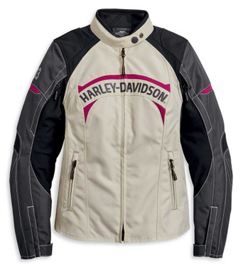 Harley-Davidson Women's Killian Vented Colorblocked Riding Jacket 97108-20VW - Wisconsin Harley-Davidson