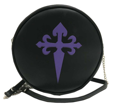 That's A Wrap Women's Embossed Gothic Cross Round Hip Bag w/ Strap CB1725 - Wisconsin Harley-Davidson
