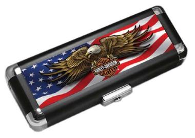 Harley-Davidson H-D Light-Weight Hard Dart Carrying Case – Patriotic Eagle 61933 - Wisconsin Harley-Davidson