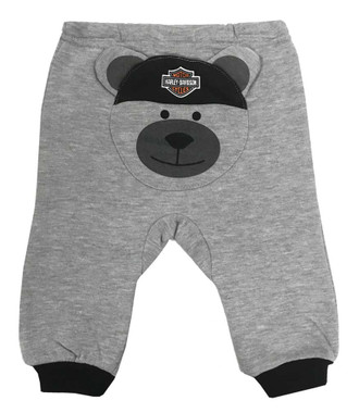 Harley-Davidson Baby Boys' 2-Piece Knit Top w/ 3D Bear Fleece Pants 2064933 - Wisconsin Harley-Davidson
