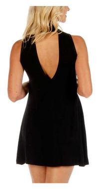 Liberty Wear Women's Edgy Elegance Designer Sleeveless Dress - Black 7562BLK - Wisconsin Harley-Davidson