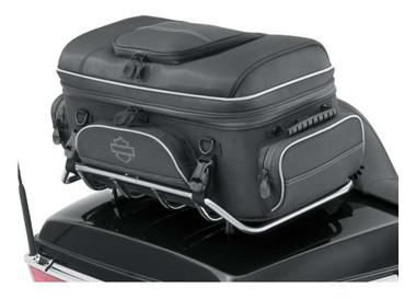 Harley-Davidson Onyx Premium Luggage Tour-Pak Rack Bag - Black 93300123 - Wisconsin Harley-Davidson