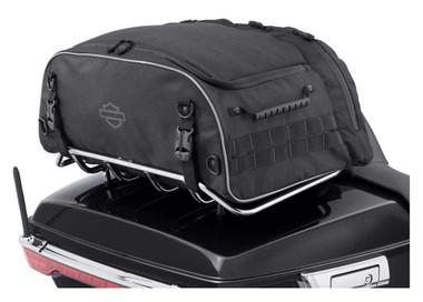 Harley-Davidson Onyx Premium Luggage Collapsible Tour-Pak Rack Bag 93300124 - Wisconsin Harley-Davidson