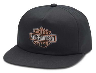 Harley-Davidson Men's Patina Sixties B&S Adjustable Baseball Cap 97620-20VM - Wisconsin Harley-Davidson