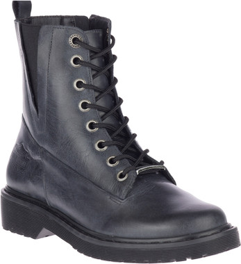 Harley-Davidson Women's Anslee 5.5-In Blue/Blk or Brown Motorcycle Boots, D84573 - Wisconsin Harley-Davidson