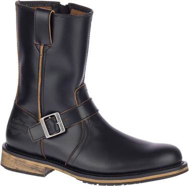 Harley-Davidson Men's Dendon 9-In Leather Motorcycle Boots D93667 - Wisconsin Harley-Davidson