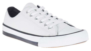 Harley-Davidson Women's Burleigh WT, BL, or GY Leather Athletic Sneakers, D84588 - Wisconsin Harley-Davidson