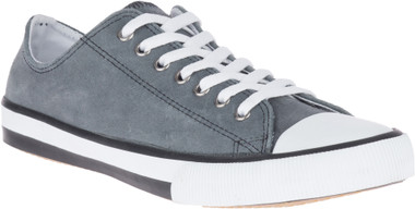 Harley-Davidson Men's Claymore Gray, Blue, or Olive Leather Sneakers, D93677 - Wisconsin Harley-Davidson