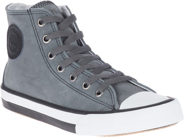 Harley-Davidson Women's Toric 4-Inch Leather Athletic Sneakers, D84592 - Wisconsin Harley-Davidson