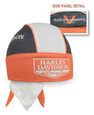 Harley-Davidson Men's V-Twin Power H-D Colorblocked Polyester Headwrap HW132538 - Wisconsin Harley-Davidson