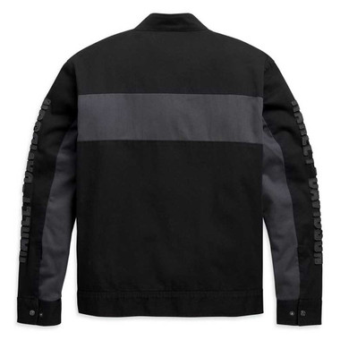Harley-Davidson Men's Copperblock Canvas Casual Jacket - Black 98406-20VM - Wisconsin Harley-Davidson