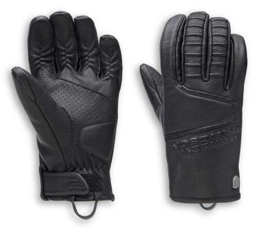 Harley-Davidson Men's Ozello Perforated Full-Finger Leather Gloves 98154-20VM - Wisconsin Harley-Davidson