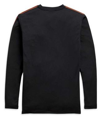 Harley-Davidson Men's Performance Micro Mesh Long Sleeve Shirt, Black 99085-20VM - Wisconsin Harley-Davidson