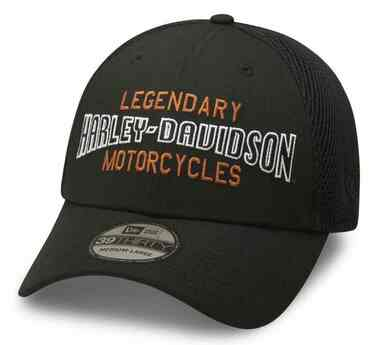 Harley-Davidson Men's Legendary Motorcycles 39THIRTY Baseball Cap 99416-20VM - Wisconsin Harley-Davidson