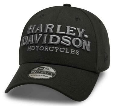 Harley-Davidson Men's Embroidered Graphic 39THIRTY Baseball Cap 99417-20VM - Wisconsin Harley-Davidson