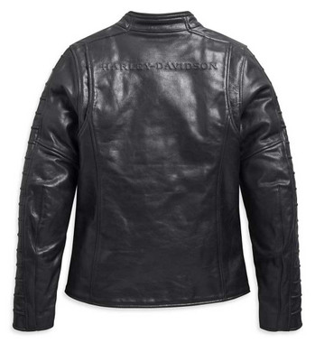 Harley-Davidson Women's Ozello Perforated Midweight Leather Jacket 98008-20VW - Wisconsin Harley-Davidson