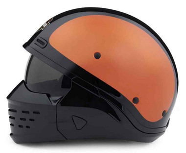 Harley-Davidson Men's Sport Glide 3-IN-1 X07 Helmet, Orange & Black 98371-20VX - Wisconsin Harley-Davidson