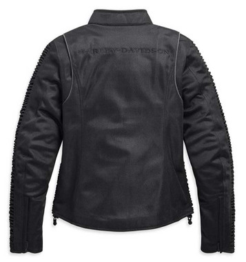 Harley-Davidson Women's Ozello Mesh Riding Functional Jacket - Black 98164-20VW - Wisconsin Harley-Davidson