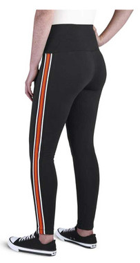 Harley-Davidson Women's Side Stripe Embellished Leggings - Black 99109-20VW - Wisconsin Harley-Davidson