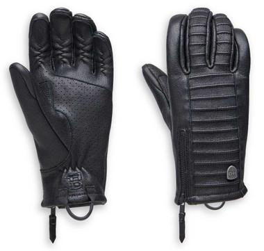 Harley-Davidson Women's Ozello Perforated Full-Finger Leather Gloves 98163-20VW - Wisconsin Harley-Davidson