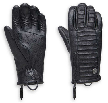 Harley-Davidson Women's Ozello Perforated Full-Finger Leather Gloves 98163-20VW - Wisconsin Harley-Davidson