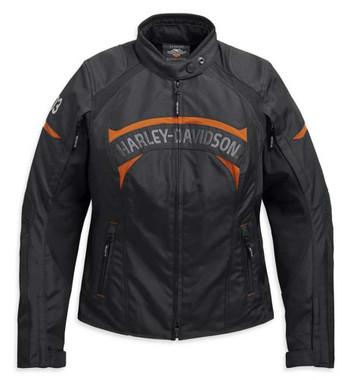Harley-Davidson Women's Killian Riding Functional Jacket - Black 98159-20VW - Wisconsin Harley-Davidson