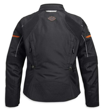 Harley-Davidson Women's Killian Riding Functional Jacket - Black 98159-20VW - Wisconsin Harley-Davidson