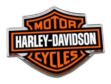 Harley-Davidson Cut-Out Bar & Shield Logo Hard Acrylic Magnet - 3.25 x 2.5 inch - Wisconsin Harley-Davidson