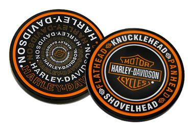 Harley-Davidson B&S Engines Reflection Metal Challenge Coin, 1.75 in. - Black - Wisconsin Harley-Davidson
