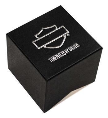 Harley-Davidson Women's B&S Logo Gold-Tone Diamond Stainless Steel Watch 77P100 - Wisconsin Harley-Davidson