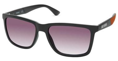 Harley-Davidson Men's Thicker Rim Sunglasses, Matte Black Frame/Smoke Lenses - Wisconsin Harley-Davidson