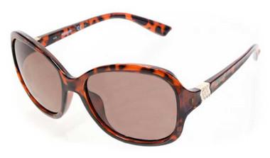 Harley-Davidson Women's Rebel Butterfly Sunglasses, Tortoise Frame/Brown Lenses - Wisconsin Harley-Davidson