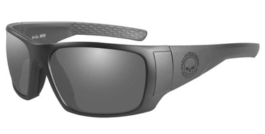 Harley-Davidson Men's Keys Sunglasses, Smoke Gray Lenses & Matte Graphite Frames - Wisconsin Harley-Davidson