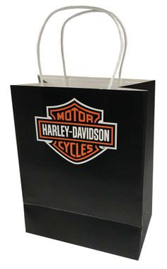 Harley-Davidson Baby Girls' Metallic & Checkers Newborn 3-Piece Set w/ Gift Bag - Wisconsin Harley-Davidson