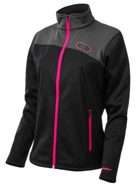 Castle X Women's Fusion G2 Mid-Layer Performance Jacket, Black/Magenta - Wisconsin Harley-Davidson