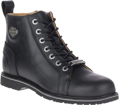 Harley-Davidson Men's Stratford Black or Brown 5-Inch Motorcycle Boots, D93686 - Wisconsin Harley-Davidson