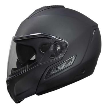 Fulmer Powersports 400 Cruz Vented Motorcycle Modular Helmet - Matte Black - Wisconsin Harley-Davidson