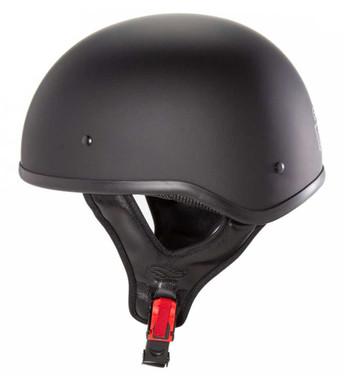 Fulmer Powersports 304 Kurio Lightweight Motorcycle Half Helmet - Matte Black - Wisconsin Harley-Davidson