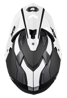 CastleX Mode Dual-Sport SV Team Modular Motorcycle Helmet - Matte Black - Wisconsin Harley-Davidson