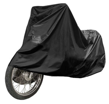 Fulmer Powersports Heavy-Duty Polyester Motorcycle Cover - Two Sizes - Black - Wisconsin Harley-Davidson