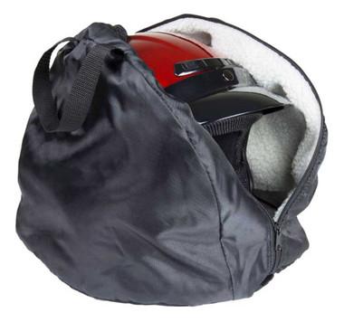 Fulmer Powersports Durable Tear-Resistant Nylon Helmet Bag - Black 27-9999 - Wisconsin Harley-Davidson