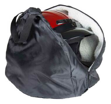 Fulmer Powersports Durable Tear-Resistant Nylon Helmet Bag - Black 27-9999 - Wisconsin Harley-Davidson
