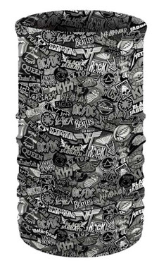 That's A Wrap Unisex Rock of Ages Multi-Function Reversible Tube Face Cover - Wisconsin Harley-Davidson