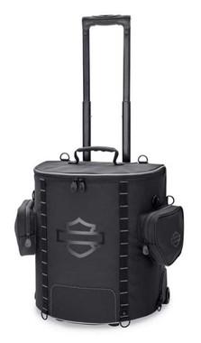 Harley-Davidson Onyx Premium Luggage Backseat Roller Bag - Black 93300126 - Wisconsin Harley-Davidson