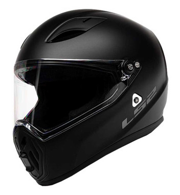 LS2 Helmets Street Fighter Full Face Motorcycle Helmet, Matte Black 419-301 - Wisconsin Harley-Davidson