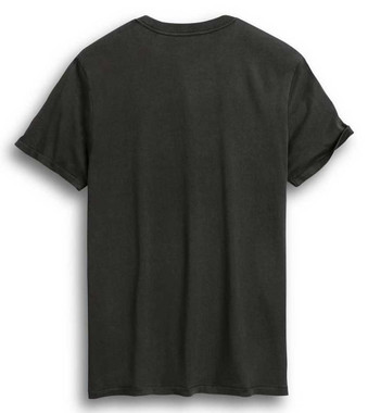 Harley-Davidson Men's Racing Circle Short Sleeve T-Shirt - Gray 96286-20VM - Wisconsin Harley-Davidson