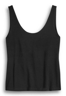 Harley-Davidson Womens More Than A Machine Sleeveless Tank Top, Black 96257-20VW - Wisconsin Harley-Davidson